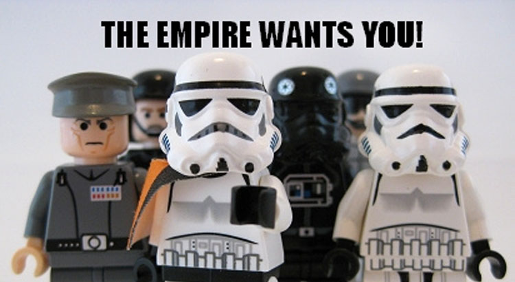 lego star wars the empire wants you!
