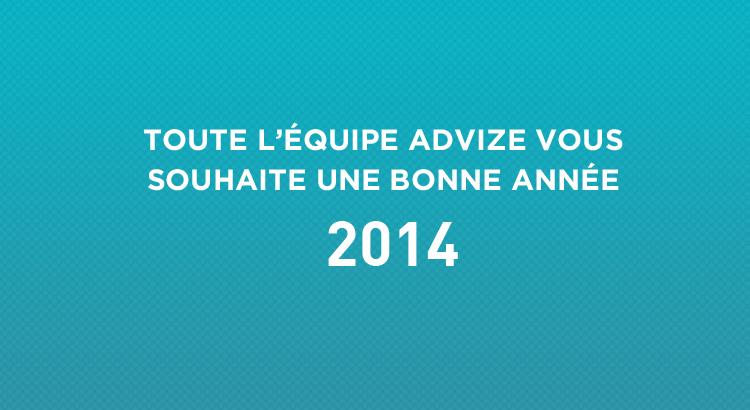voeux de l'equipe advize pour l'annee 2014