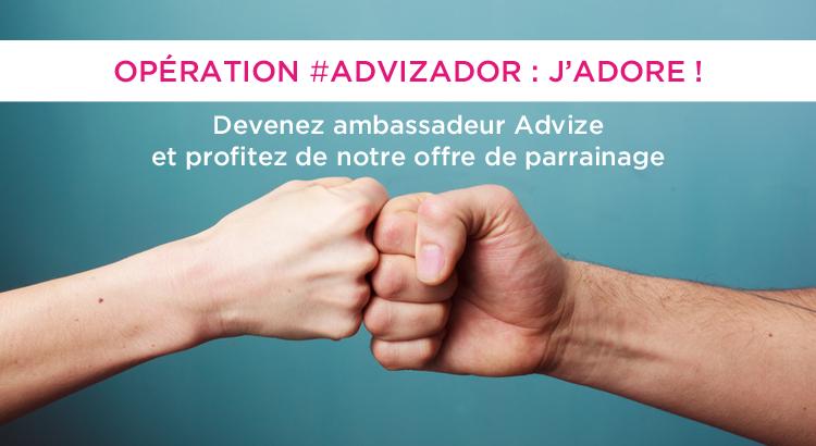 #Advizador-parrainage-advize
