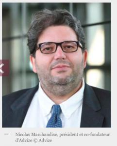 Nicolas Marchandise Co-fondateur et président d'Advize