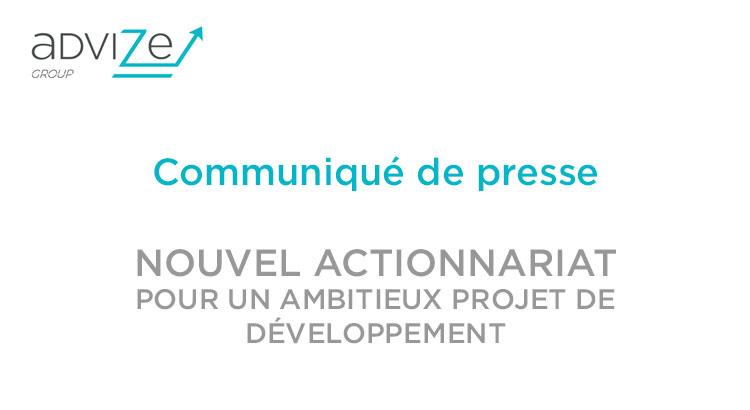 advize-nouvel-actionnariat-communiqué-de-presse-2016
